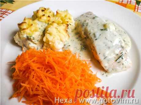 Рыбная запеканка по-шведски (Fiskgratдng). Рецепт с фото Рыбная запеканка - классика шведской кухни. Добавки в соус могут быть самыми разными - креветки, помидоры, хрен, каперсы, можно добавлять сыр, вместо сливок брать сметану, крем-сыр или чисто бульон. В зависимости от добавок будет новое блюдо.