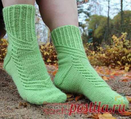 Вязаные носки «Virrat» | ВЯЗАНЫЕ НОСКИ