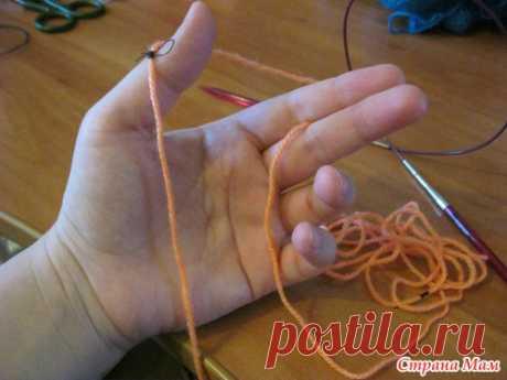 Раскрываю свой секрет - Как рассчитать длину нитки при наборе петель на спицах? - Страна Мам