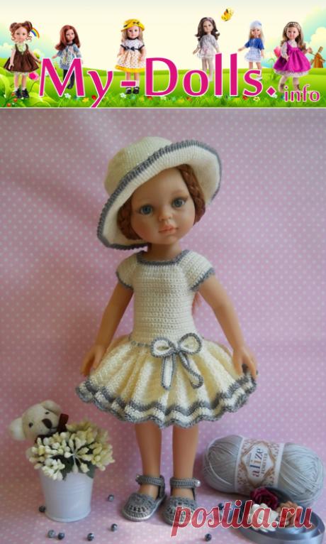 Новое на My-Dolls.info - наряд по буклету Оксаны Лифенко для куклы Кристи Paola Reina. Работа и обзор Ольги Портновой.