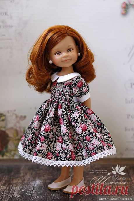 Мой личный Эверест - платье с буфами / Одежда и обувь для кукол своими руками / Бэйбики. Куклы фото. Одежда для кукол