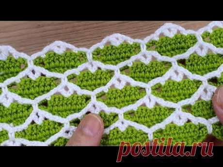 Çok kolay muhteşem tığ işi örgü yelek battaniye çanta easy knit knitting crochet model
