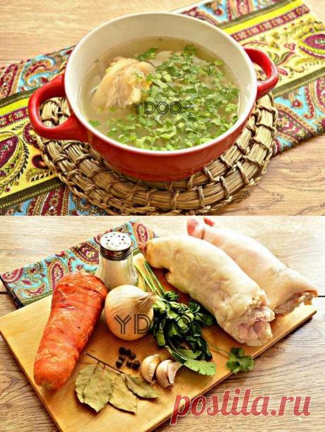 Хаш из свиных ножек — рецепт с фото, как приготовить армянский суп на ydoo.info