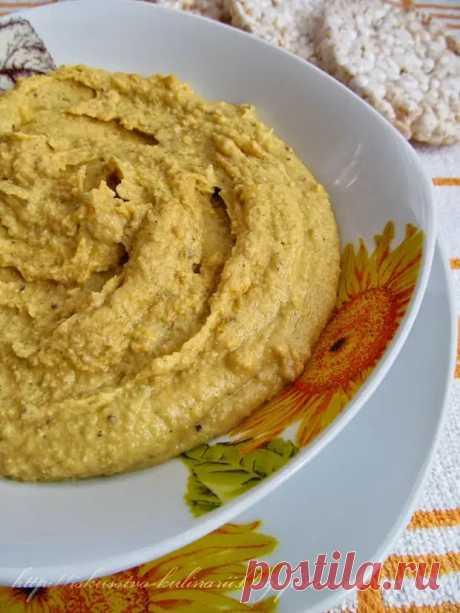 Хуммус из красной чечевицы (Red Lentil Hummus) - БУДЕТ ВКУСНО! - медиаплатформа МирТесен