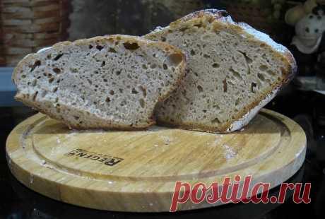 Полезный хлеб на закваске пошаговый рецепт с фото