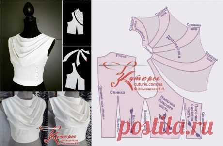 Бесплатный набор выкроек для лифа отрезного платья с драпировкой и как его использовать при пошиве | Шьем с Верой Ольховской | Яндекс Дзен