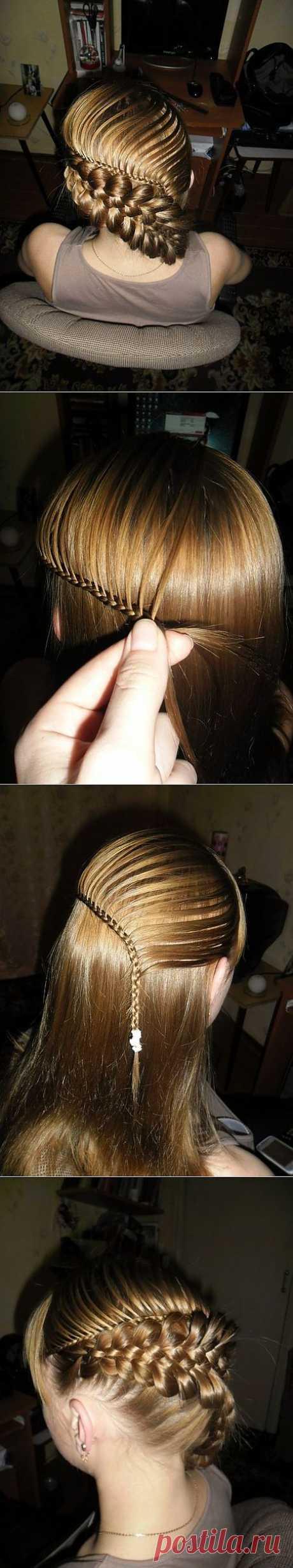 (+1) тема - Фото-урок красивой и оригинальной косы | КРАСОТА