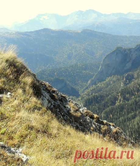 На тропе туристической, Кавказ осенний - 28 Марта 2016 - Персональный сайт