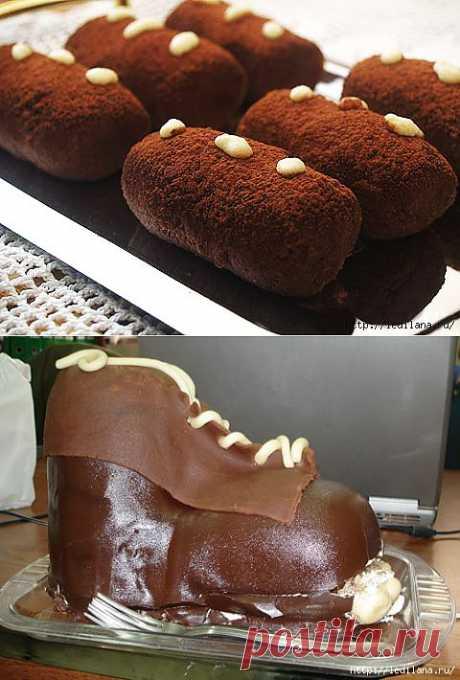 Пирожное или торт «Картошка».