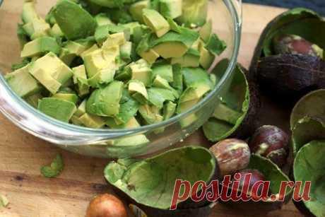 Соус гуакамоле из Мексики (из авокадо)
