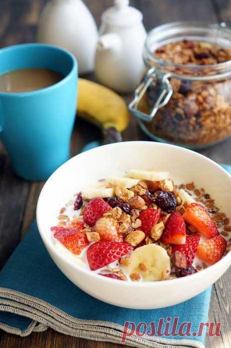 Гранола -идеальный завтрак!