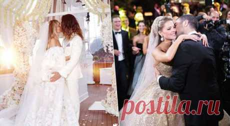 Лучшие свадебные платья звезд загод . Милая Я