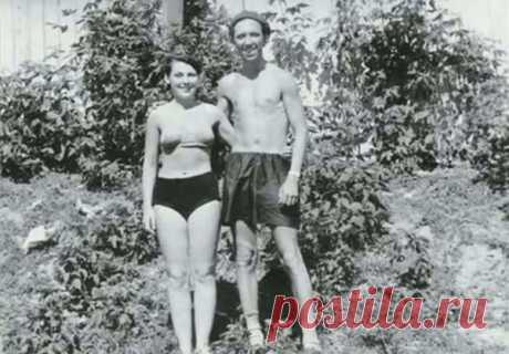 Юрий Никулин с женой в Уфе на отдыхе