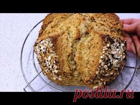 🔴Быстрый,вкусный и самый полезный хлеб без дрожжей на кефире | Yeast free bread