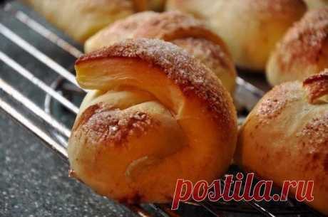 Яблочные рогалики — Sloosh – кулинарные рецепты