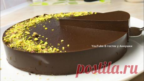 Холодный десерт за 10 минут! Очень вкусный шоколадный десерт. | В гостях у Аннушки Рецепты | Яндекс Дзен