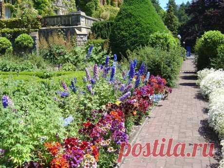 Замок Хэтли и его сады.