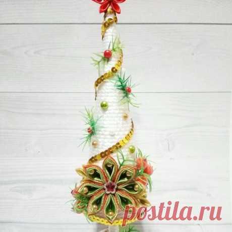 Интерьерная ёлочка Подготовка к Новому году! #Ручная_работа #Новый_год #hand_made #Рождество
