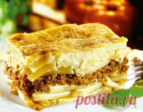 Обед по-гречески: пастицио