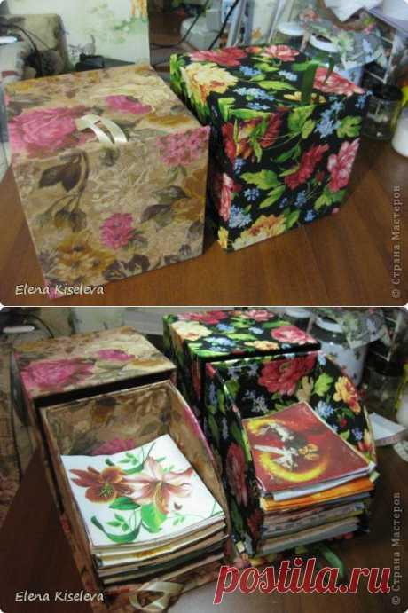 Коробочка для хранения салфеток (МК) / Декупаж / Картинки для декупажа