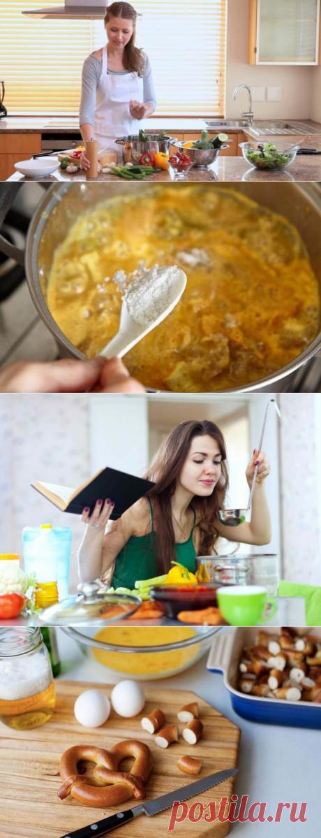 12 faltas en la cocina, que pueden estropear el plato