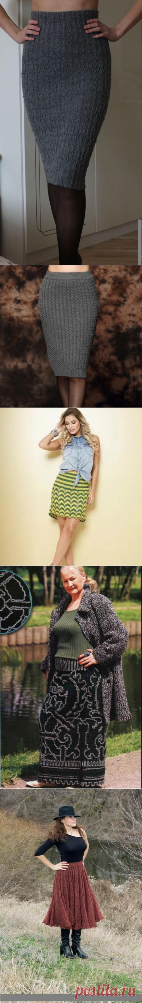 Как связать юбку спицами для женщины: новые модели, узоры, схемы с описанием, фото. Как связать спицами летние, зимние, длинные, расклешенные, мини и большого размера женские юбки для девушек и женщин своими руками?
