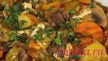 Жаркое в горшочках ( рецепт )