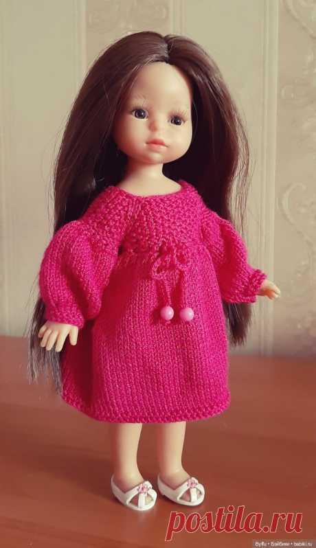 """Описание платья """"Джульетта"""" для куколок Kruselings и miniamigas от Paola Reina / Вязание для кукол / Бэйбики. Куклы фото. Одежда для кукол"""