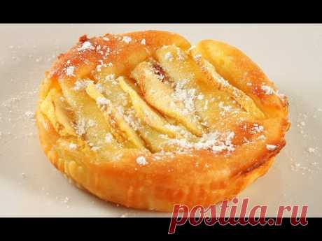 🍏Яблочное Пирожное🍰Можно Есть Губами🍎Яблоки в Нежном Креме/Tortine di Mele