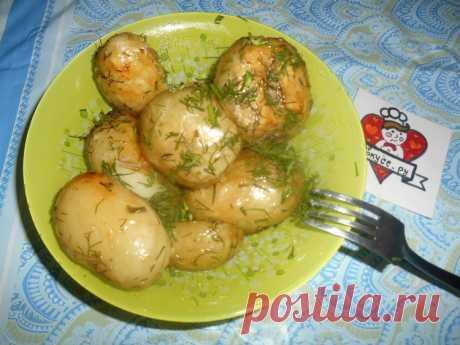 Молодой картофель ,запечённый в рукаве - Женские советы