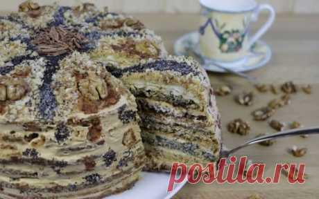 Торт «Дамский каприз». Я его обожаю! — Бабушкины секреты