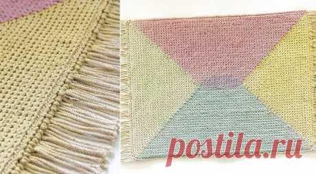 Вязание крючком по канве (Diy) Модная одежда и дизайн интерьера своими руками