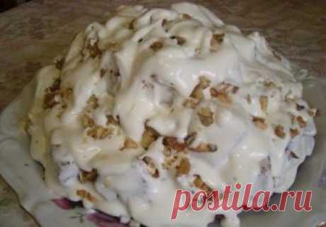 Шикарный торт «Айсберг». Готовлю на все праздники Очень вкусный торт, просто объедение! Ингредиенты: Для коржей: сахар — 1 стакан...