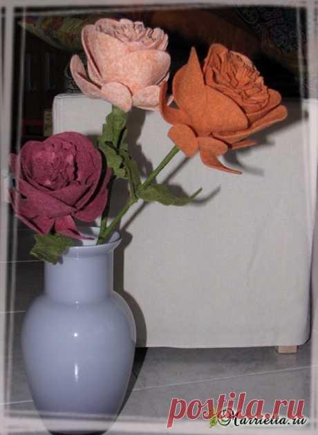 d04cb2cff03c Цветы из ткани. Украшаем одежду и создаем аксессуары. Мастер-класс ...