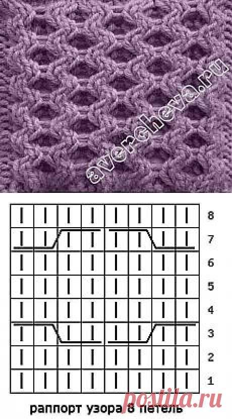 вязание спицами косы | каталог вязаных спицами узоров