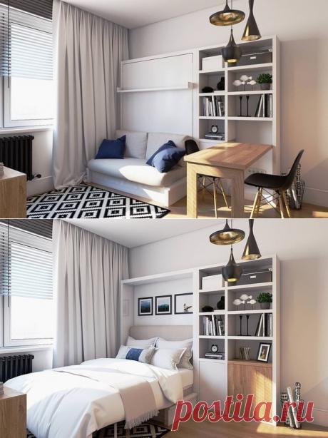 Дизайн интерьера 19 кв.м. - Дизайн интерьеров   Идеи вашего дома   Lodgers