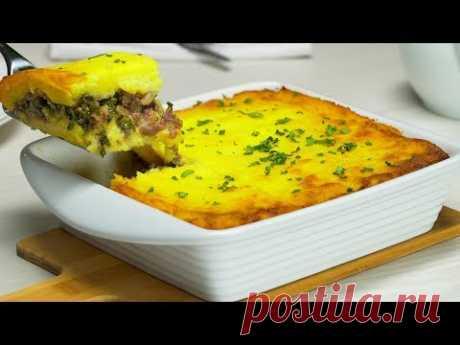 Картофельная запеканка с фаршем. Рецепт от Всегда Вкусно!
