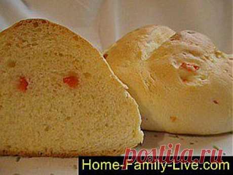 Кулинарные рецепты Как испечь хлеб - пошаговый фоторецепт - хлеб с наполнителем болгарски