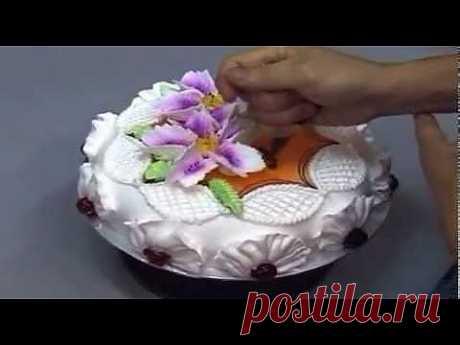 ▶ Украшение тортов 3 - YouTube