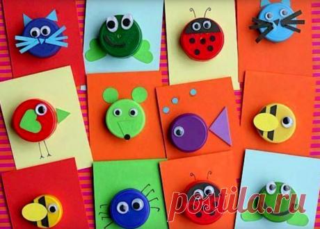 Поделки для детей 4 лет своими руками - 69 фото идей для четырехлетних детей