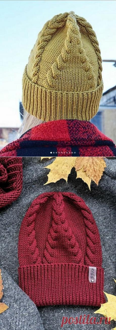 Узоры для шапок спицами, шапки | Ирина СНежная & Вязание | Яндекс Дзен