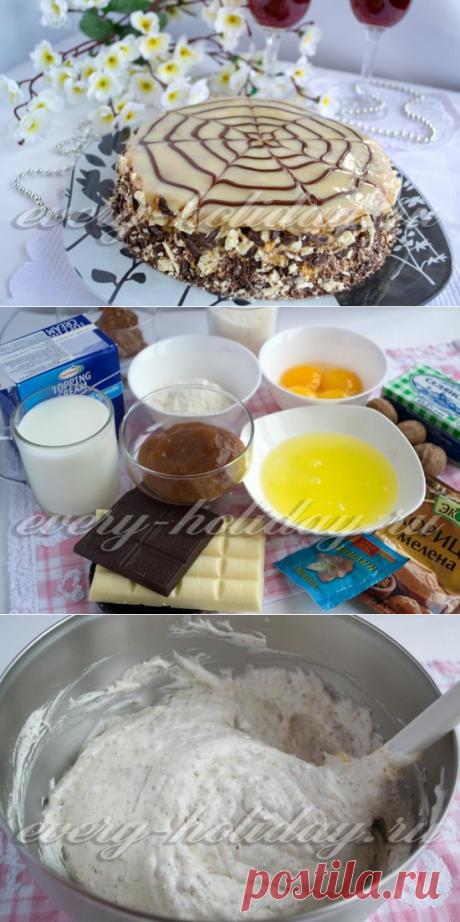"""La torta de \""""Esterhazi\"""", poshagovyy la receta de la foto"""