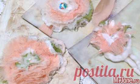 Цветы в стиле бохо-шик. Мастер-класс - бохо-шик, цветы, своими руками, текстиль, мастер-класс, фотосессия,