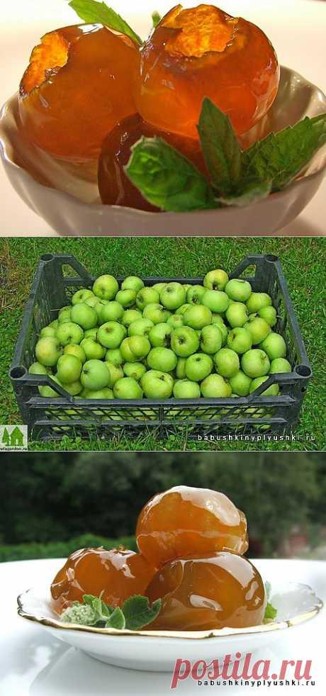 Варенье из яблок | Бабушкины плюшки