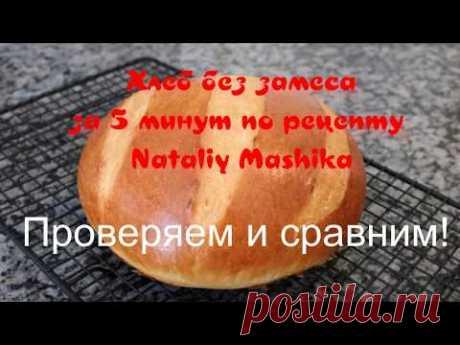 Проверяем и сравниваем! Хлеб без замеса за 5 минут - YouTube