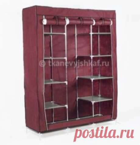 Тканевые шкафы и мобильные гардеробы от 1490р.
