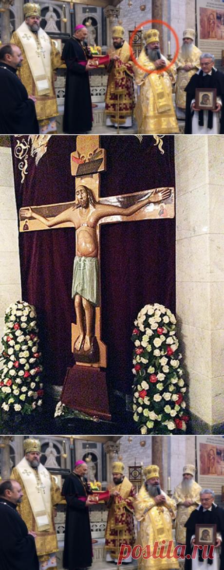 ЗНАМЕНИЕ... РУХНУВШИЙ КРЕСТ. И везде полный молчок! » Москва - Третий Рим