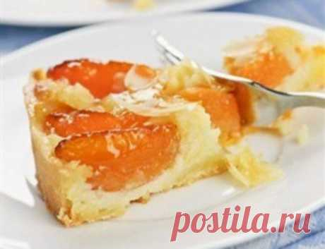 Абрикосовый пирог по-немецки «Штройзель» / Простые рецепты