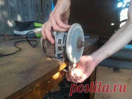 Простой точильный станок своими руками | Руки делают | Пульс Mail.ru Точильный станок из электро двигателя от стиральной машинки