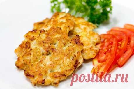 Рубленные куриные котлеты — Sloosh – кулинарные рецепты